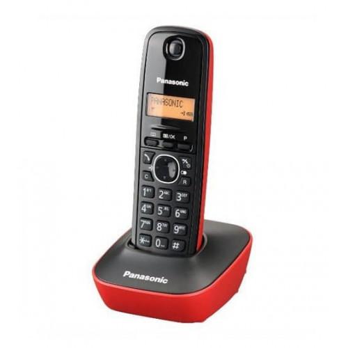 Telefon kx-tg1611fxr crno-crveni