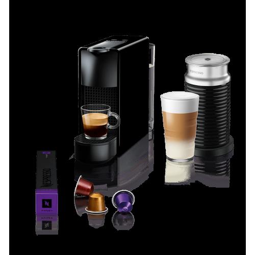 Aparat za kafu ESSENZA mini crni+Aeroccino