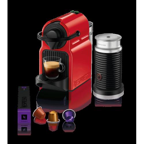 Aparat za kafu INISSIA crveni+Aeroccino
