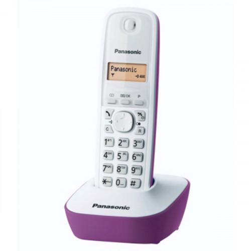 Telefon kx-tg1611fxf belo ljubicasti