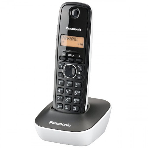 Telefon kxtg1611fxw crno beli